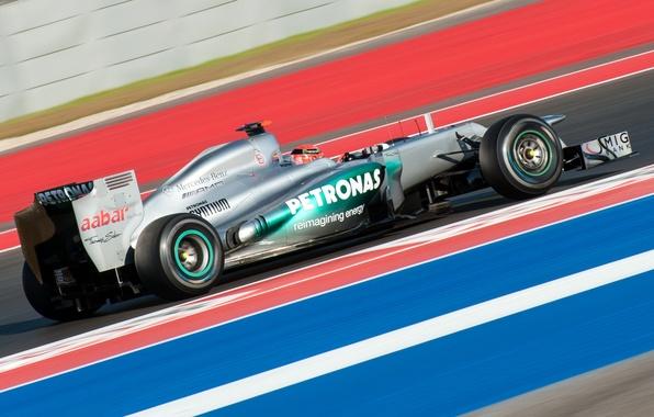 Picture Mercedes, Michael Schumacher