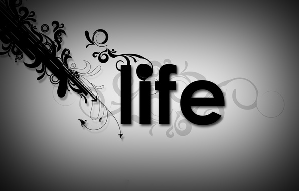 Picture line, life, figure, different, life, the word, Miscellaneous