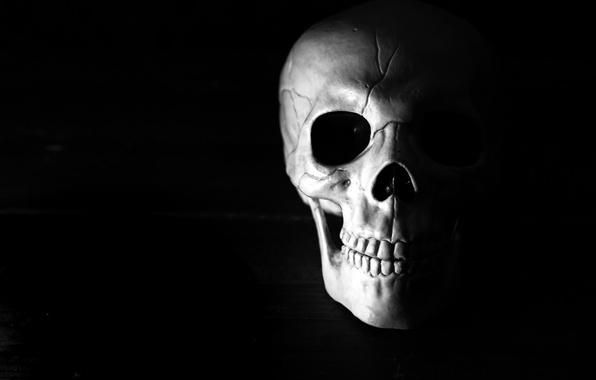 Picture background, skull, Happy Halloween