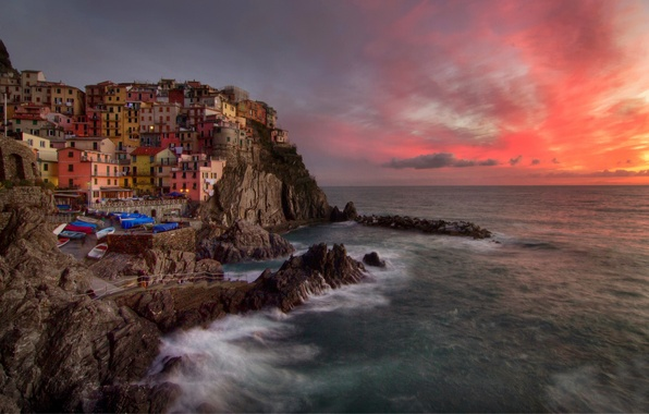 Picture Italy, Italy, Manarola, Liguria, The province of la Spezia, The national Park of Cinque Terre, …