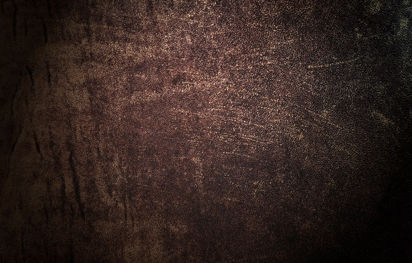 Picture cracked, texture, leather, brown, leather, dark