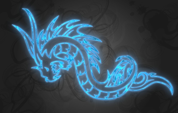Picture holiday, dragon, new year, 2012, coming, a mythical creature