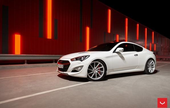 Picture machine, auto, wheels, Hyundai, drives, auto, Genesis, Vossen Wheels