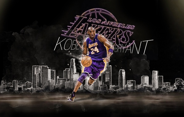 Photo Wallpaper NBA Los Angeles Lakers Kobe Bryant Player