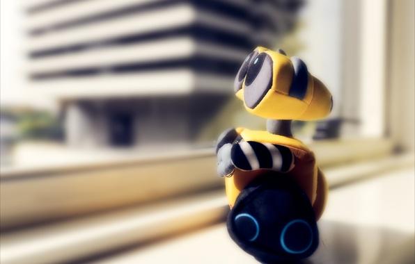 Picture toy, robot, wall-e, valley, soft, souvenir