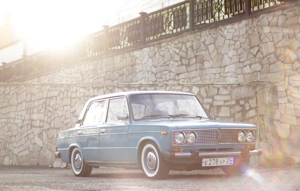 Picture retro, classic, Lada, vaz, Lada, 2103, VAZ 2103