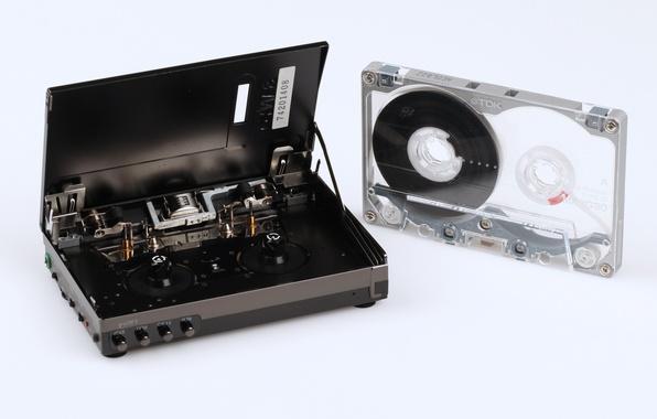 Picture cassette, cassette player, TDK, JJ-P4, Sanyo