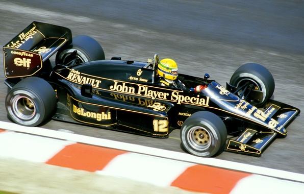 Picture Lotus, Lotus, racing car, 1985, Aytron Senna, Aytron Senna, hongshik, 97T