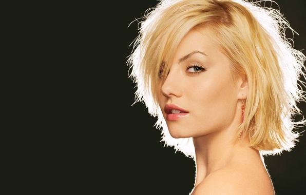 Picture look, girl, blonde, elisha cuthbert, disheveled hair