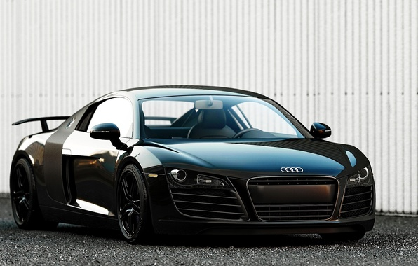 Picture Audi, Audi, black, supercar, Black, 2014