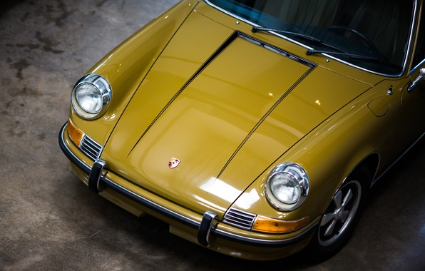 Picture Porsche, the hood, the front, 911T