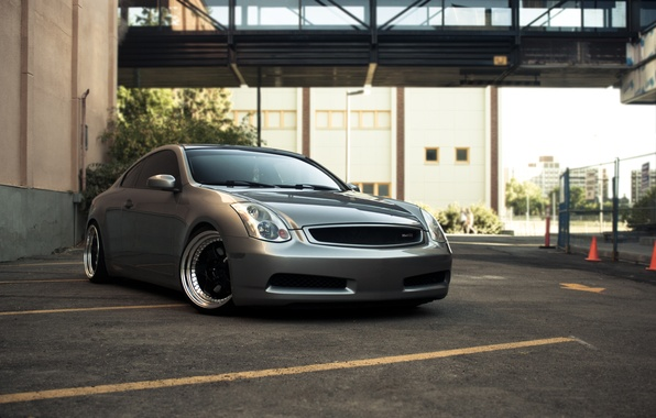 Picture city, photo, Infiniti, Parking, desktop, Parking, cars, auto, wallpapers, stop, cars walls, wallper, Tuning, Tuning …