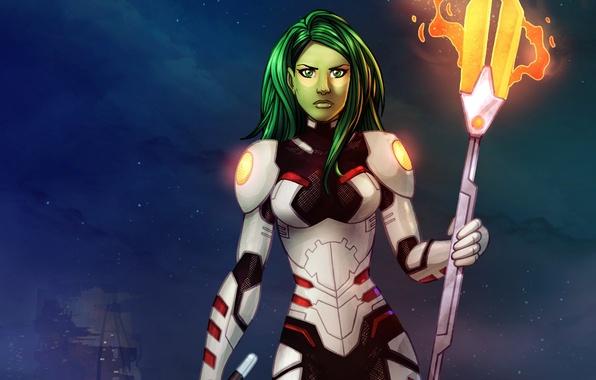 Picture assassin, Marvel Comics, Guardians Of The Galaxy, Guardians of the Galaxy, Gamora