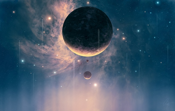 Picture Planet, Planets, Stars, Space, Spacecrafts, Spaceships