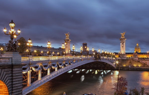 Picture landscape, night, city, the city, lights, lights, France, Paris, landscape, paris, nights, beautiful, france, beautiful, …