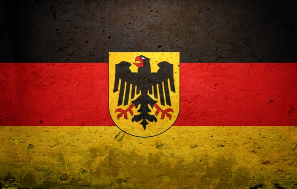 Picture Germany, flag, coat of arms