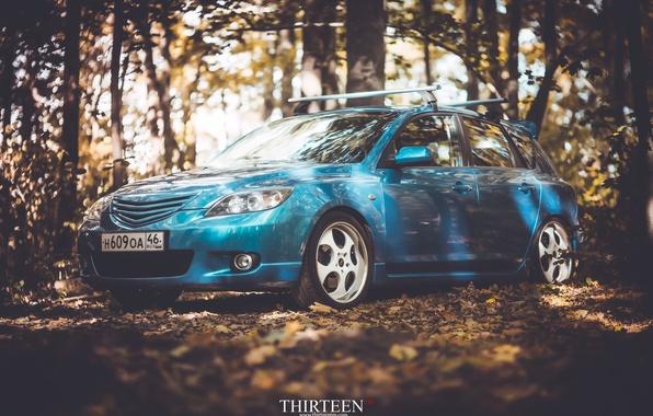 Picture machine, auto, autumn, lights, Mazda, photographer, Mazda, auto, photography, photographer, Thirteen