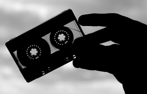 Picture retro, music, film, cassette, audio cassette