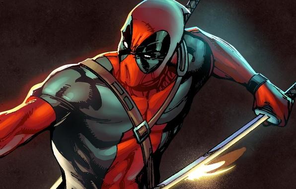 Picture marvel, deadpool, deadpool, antihero, Marvel Heroes, trading card steam