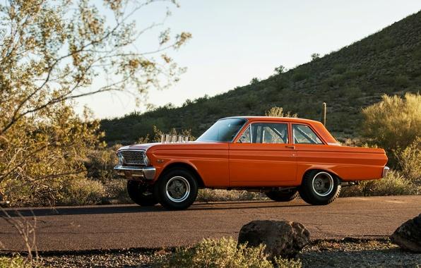 Picture Ford, Falcon, 1964, Square Body Falcon, AFX, Drag Car