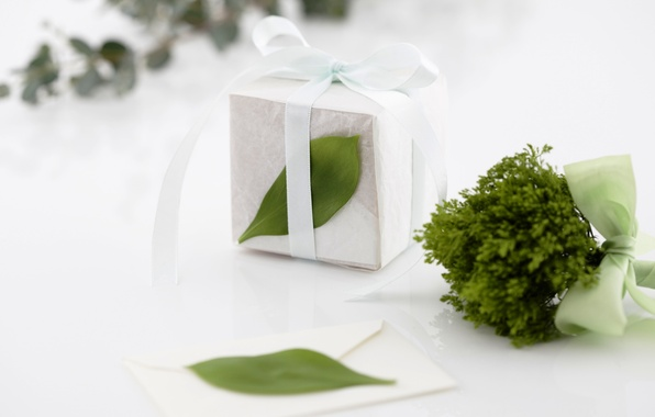 Picture sheet, gift, spring, white, holidays, box