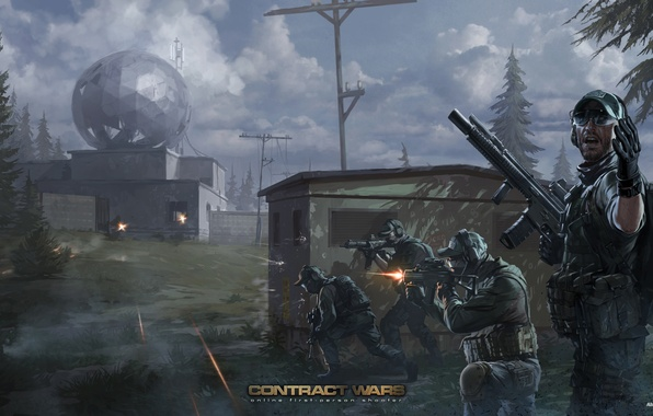 Picture art, soldiers, special forces, contract wars, BEAR, USEC