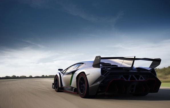 Picture Auto, Road, Lamborghini, Sports car, Rides, Spoiler, Veneno