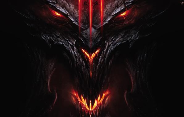 Wallpaper Demon Devil Diablo 3 III Face And Head Images For Desktop Section