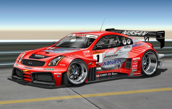 Picture art, Infiniti, infiniti, front, stickers, race car, G-Series, kit, decal, labels, G35
