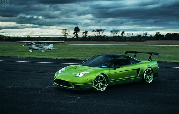 Picture car, the plane, tuning, rechange, honda nsx