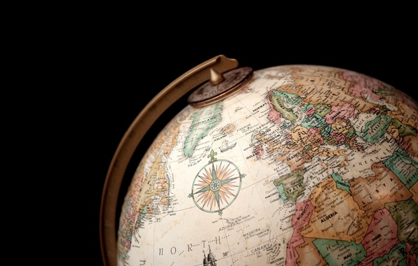 Picture country, ball, geography, globe