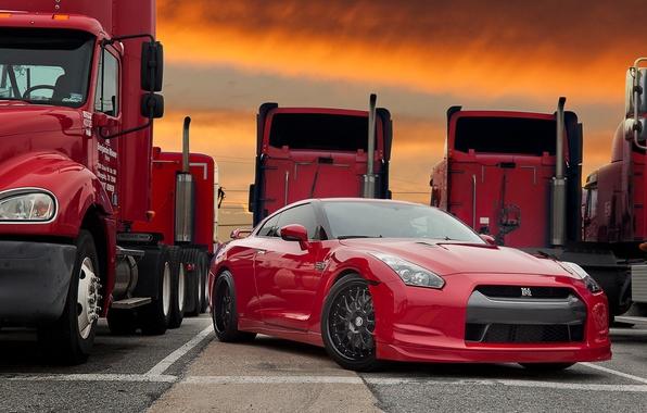 Picture Auto, Tuning, Truck, GTR, Machine, Nissan, Parking