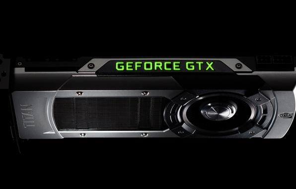 Picture Nvidia, video card, GeForce GTX Titan