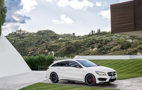 Picture Mercedes, Mercedes, AMG, AMG, Shooting Brake, CLA 45, 2015, X117
