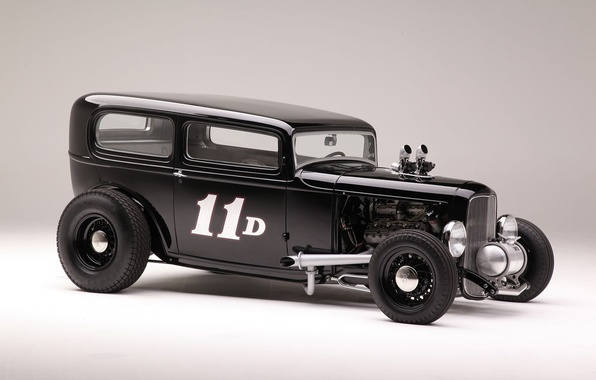 Picture Ford, car, Hot Rod, 1932, Sedan, Tudor