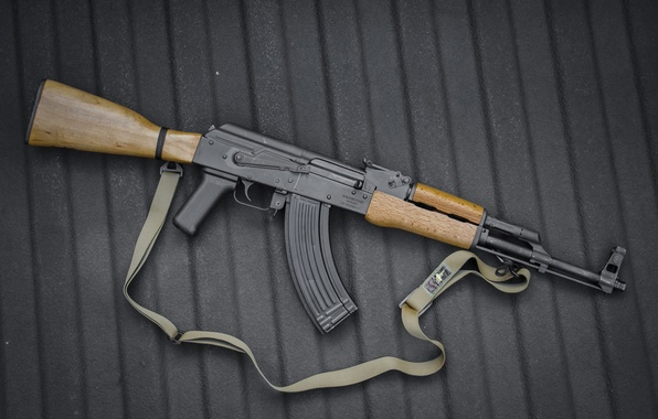 Photo wallpaper weapons, machine, Kalashnikov, Kalash, AK-47
