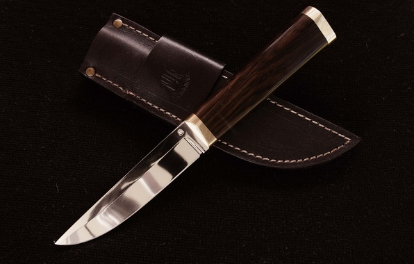 Picture background, leather, knife, sheath