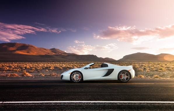 Picture road, McLaren, supercar, MP4-12C, McLaren, Spider