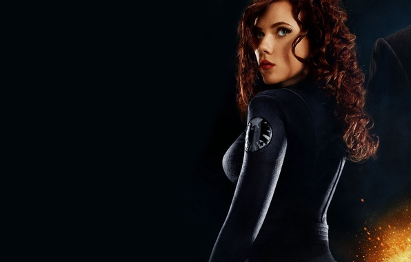 Picture girl, actress, Scarlett Johansson, the Avengers, Scarlett johansson, avenjers, s.h.the.and.l.d