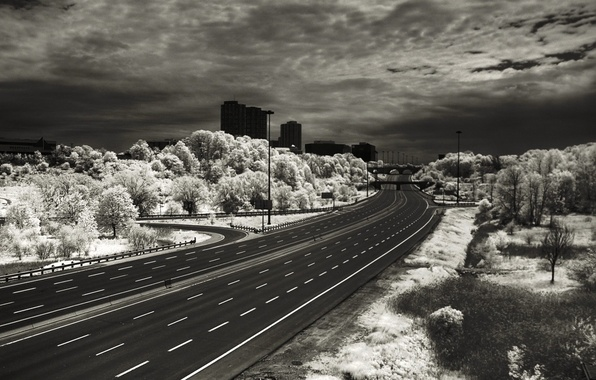 Picture markup, Road, unusual