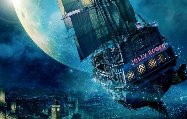 Picture City, Light, Moon, Stars, Tiger, Hugh Jackman, Night, Wallpaper, Lily, London, Flying, England, Mermaid, Big …