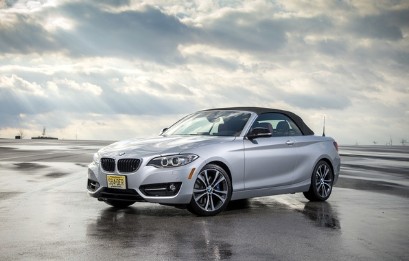 Picture photo, BMW, Car, convertible, Silver, F23, 228i