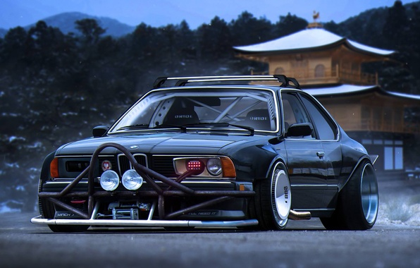 Picture BMW, Tuning, Future, 635CSi, E24, by Khyzyl Saleem
