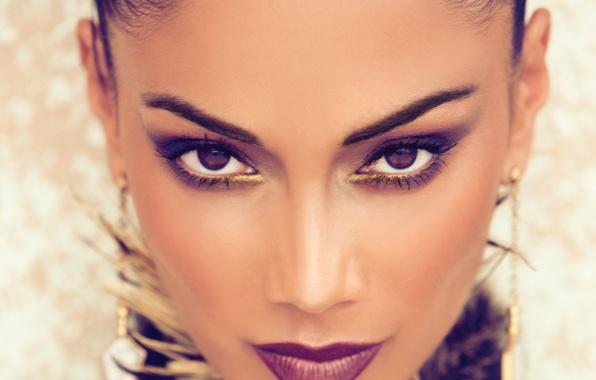 Picture face, portrait, Nicole Scherzinger, singer, Nicole Scherzinger