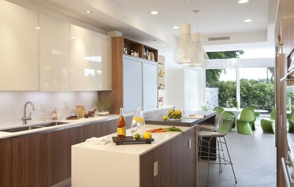 Picture table, furniture, interior, chairs, kitchen, design, interior, window.