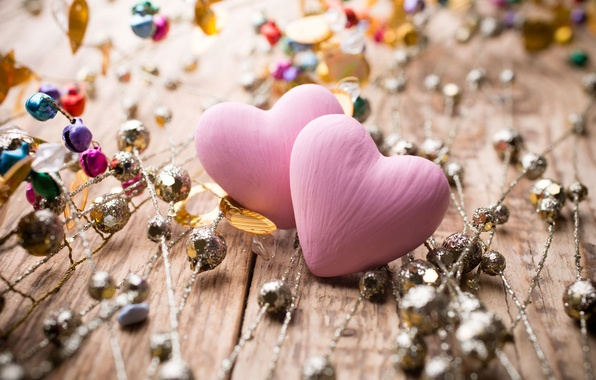 Picture decoration, love, background, pink, widescreen, Wallpaper, mood, heart, hearts, wallpaper, love, widescreen, background, full screen, …