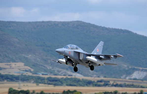 Picture the sky, height, flight, attack, the plane, BBC, airplane, Russia, Yakovlev, The Yak-130, combat training, …
