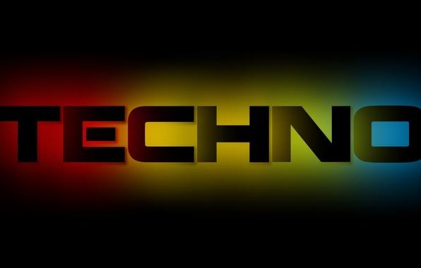Picture color, blue, letters, background, black, minimalism, Music, Techno, Zsolt, krsno