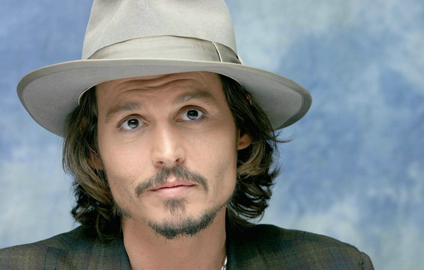 Picture Johnny Depp, hat, actor, Johnny Depp, actor, hat