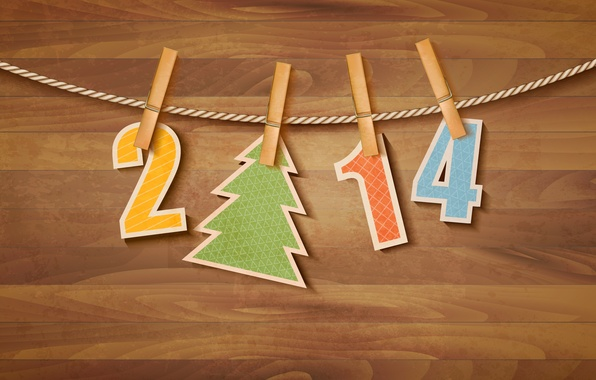 Picture tree, New Year, Merry Christmas, clip, Christmas tree, New year, 2014, clip, 2014, Merry Christmas